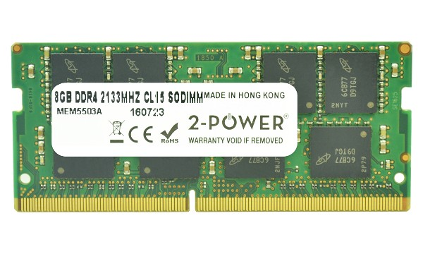 Pavilion 15-ay112ns 8GB DDR4 2133MHz CL15 SoDIMM