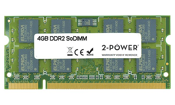 Satellite Pro U400-10D 4GB DDR2 800MHz SoDIMM