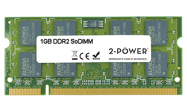 Aspire One 751h-1948 1GB DDR2 667MHz SoDIMM