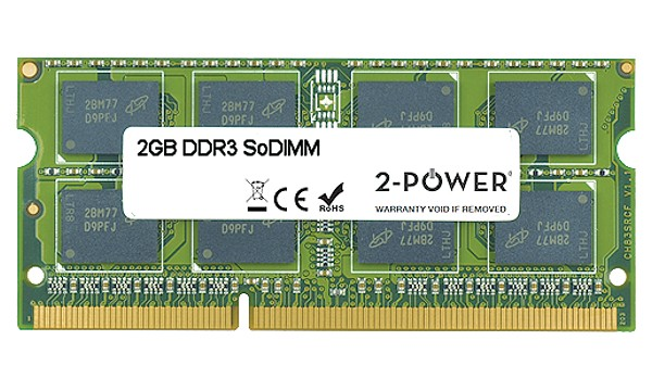 Tecra R950-14Z 2 GB MultiSpeed 1.066/1.333/1.600 MHz SoDIMM