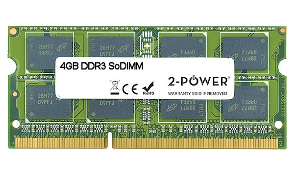 Satellite L775-117 4 GB DDR3 1.333 MHz SoDIMM