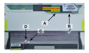 <b>2-Power alternativ</b> für Toshiba PQX33E-04J005DU Screen
