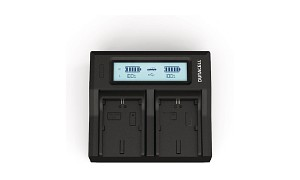 NV15 Canon LP-E6N Dual Battery charger
