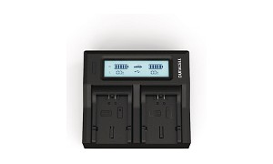 DMW-BMA7 Panasonic CGA-S006 Dual Battery Charger